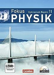 Fokus Physik - Oberstufe - Gymnasium Bayern: 11. Jahrgangsstufe - Schülerbuch mit DVD-ROM