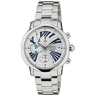 Seiko Criteria Chronograph White Dial Women's Watch-SNDY03P1