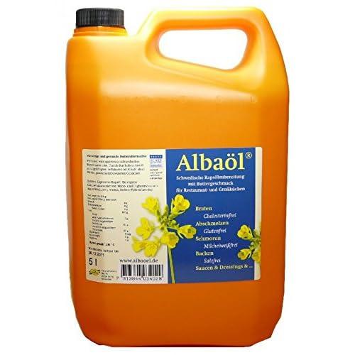 Alba L Rapsl Buttergeschmack Butterl 5 Liter 2 Leere Glasflaschen 1 Liter