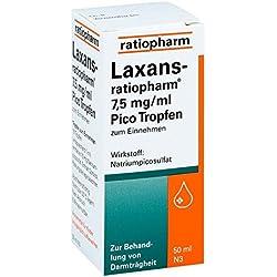 Laxans-ratiopharm Pico Tropfen, 50 ml