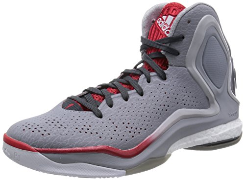 adidas D Rose 5 Boost Hommes Chaussures de basket-ball Grey