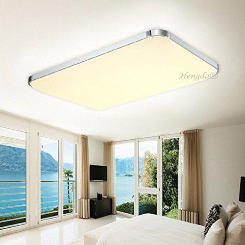 Hengda® 48W LED Flur Deckenleuchte Warmweiß 3840lm Esszimmer Wohnzimmer Modern Energiespar Deckenlampe 230v