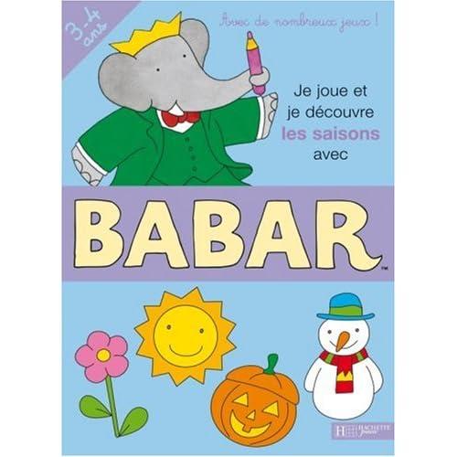 Je joue et je découvre les saisons avec Babar