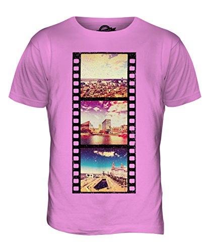 CandyMix Liverpool Fotografischer Film Herren T Shirt Rosa