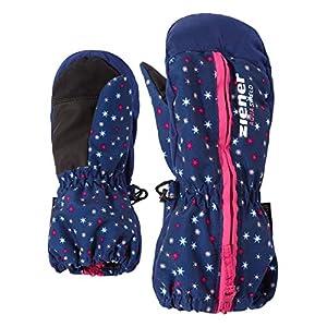 Ziener Unisex Baby Langelo As(r) Minis Glove Ski-Handschuhe/Wintersport | Wasserdicht, Atmungsaktiv