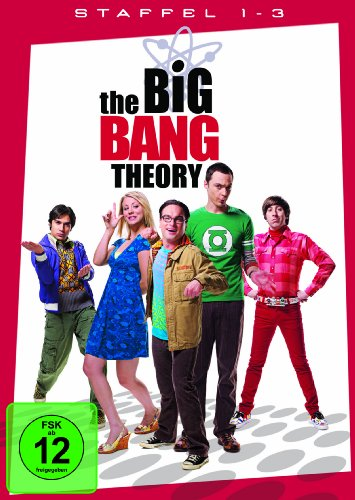 Big Bang Theory Staffel 1-3 (exklusiv bei Amazon.de) [10 DVDs] - Big-bang-dvd-staffel 1