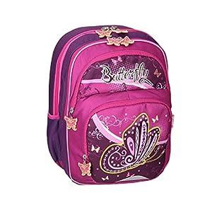 Spirit Mochila Escolar con diseño de Mariposas (colección Infantil).