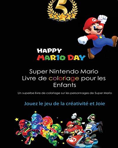 Super Nintendo Mario Livre de coloriage pour les  Enfants: Mario, Luigi, Princess Peach, Toad, Yoshi, Baby Luma, Birdo, Diddy Kong and others por Zack Scott Games