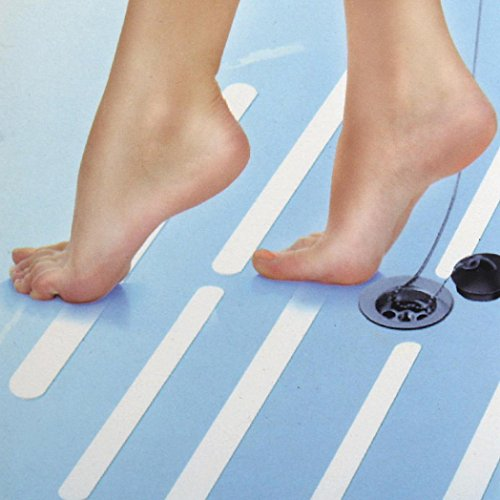 JIANGFU Transparentes rutschfestes Klebeband,Bestes Produkt für Dusche 6pcs Anti-Rutsch-Bad Griff Aufkleber Rutschfeste Streifen
