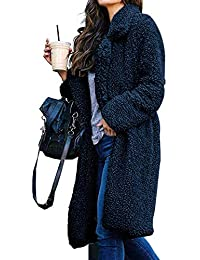 cappotto teddy bear nero lungo