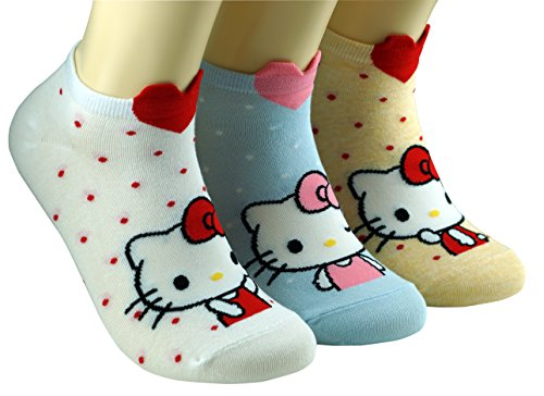 Meine Kleine Kitty (Frauen Hallo Kitty Socken)