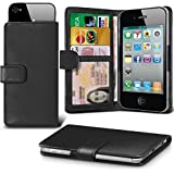 i-Tronixs (Black) Umi HAMMER S Case cover pouch Thin Faux