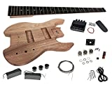 Solo SB Stil DIY Headless Bass Kit, Hals aus Ahorn, Korpus aus Esche