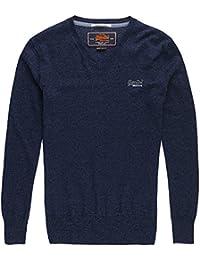 Superdry Label Vee, Sweat-Shirt de Sport Homme