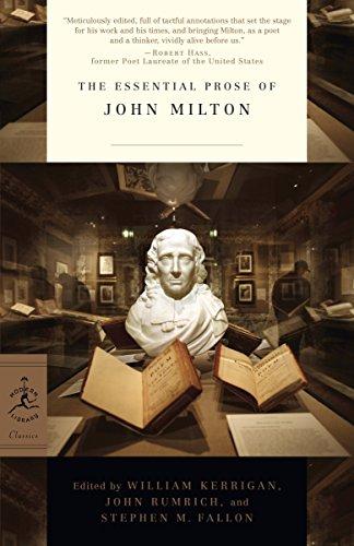 The Essential Prose of John Milton (Modern Library Classics) (Modern Library Classics (Paperback))