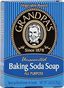 Grandpa's - Savon à base de bicarbonate de soude, 92 g