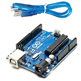 #1: Arduino Uno R3 ATmega328P ATMEGA16U2 Compatible with USB Cable