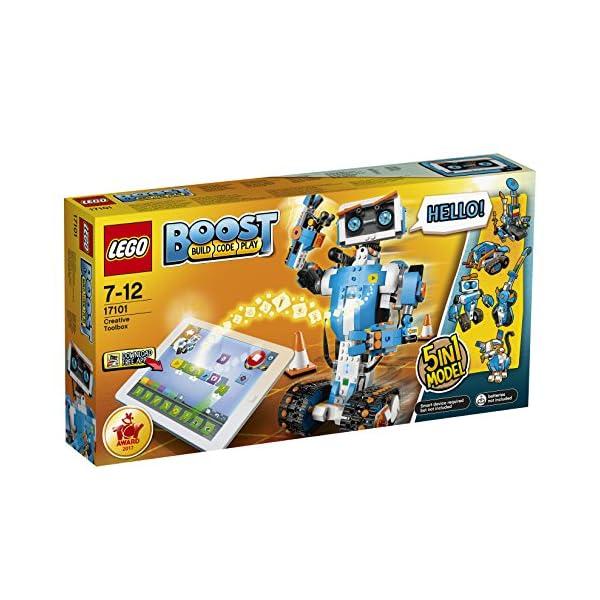 51FzhkBNYxL. SS600  - LEGO Boost 17101 - Programmierbares Roboticset