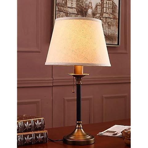 Lámparas de mesa protección ocular/moderno / contemporáneo clásico tradicional/Metal , 110-120 V-1.