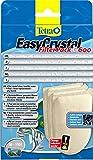 Tetra EasyCrystal Filter Pack C600 Filterpads, (Filtermaterial mit Aktiv-Kohle, Filterpads für EasyCrystal Innenfilterbox, keine nassen Hände beim Filterwechsel, integrierter Timestrip zeigt Wechsel an), 3 Stück
