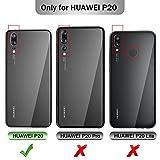 iBetter Huawei P20 Cover, Huawei P20 Protettiva Custodia, Funzione Stand, Chiusa Magnetica Protettiva Cover per Huawei P20 Smartphone.Flip Series - Nero
