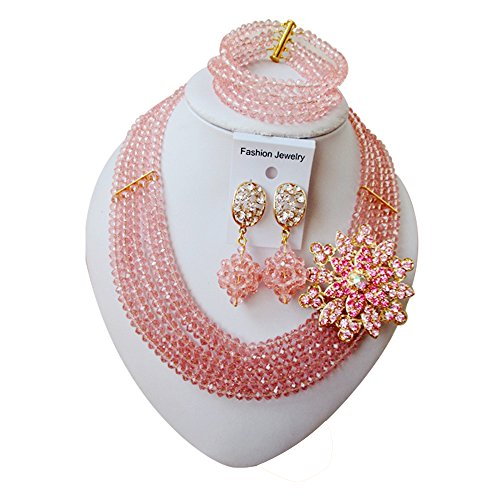 laanc-5-rows-peach-crystal-nigeria-wedding-african-beads-jewelry-sets-necklace-bracelet-earrings