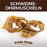 PrideDogs Schweineohrmuscheln 500g der Premium Kausnack für Ihren Hund | 100%...