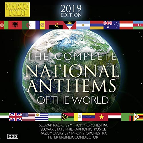 The complete national anthems of the world - inni nazionali (integrale)