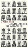 Le Culte moderne des monuments - Sa nature et ses origines