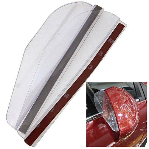 2x Auto Rückspiegel Regenschutz Sonnenschutz Anti Rain Weatherstrip