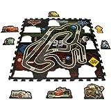 Original Disney Pixar Cars 17 piezas 3D Puzzle Mate/Alfombra/Alfombrilla/Alfombra de juegos 93 x 93 X 1 cm Nuevo
