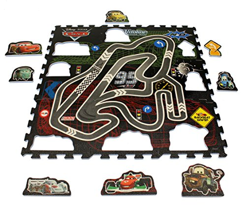 Disney 0625203 Cars Puzzlematte Schaum, Multicolor