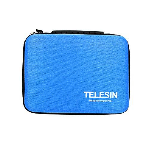 Preisvergleich Produktbild TELESIN stoßfest stoßfest schützende Travel Bag Transporttasche für Gopro Hd Hero 3 Hd3 + 2 1 Kamera & Gopro Zubehör (Größe M)