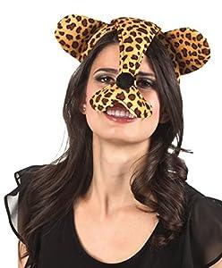 Boland 52277 - Diadema leopardo, tamaño de la unidad, multicolor