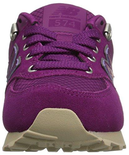 New Balance - Kl574, Sneakers per bambine e ragazze Purple/Tan