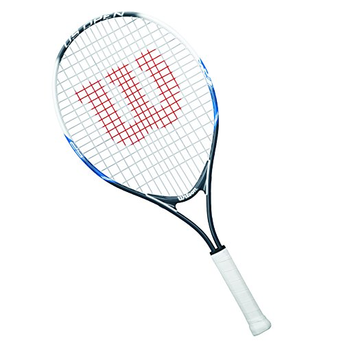 Wilson Unisex - Kinder Tennisschläger US Open, rot, 25