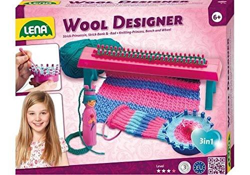 Lena 42681Juego de Manualidades Woll-Designer