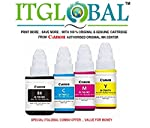 ITGLOBAL Presents Cost Effective Original Canon Ink Cartridges Offers, Canon Original Ink Cartridge can be used For Canon Pixma G1000, G2000, G3000 Printers.Get Value for Money Offer - from CANON Authorized Original Ink Centre -ITGLOBAL - A 100 % Ori...
