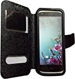 NAV FILP CASE COVER WITH SILICONE HOLDER FOR PANASONIC T30