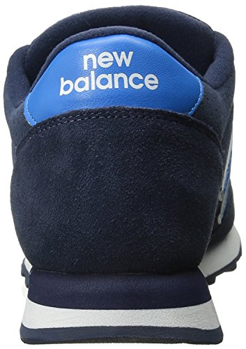 New Balance Mens 501 Suede Classics Traditionnels Suede Trainers Blau