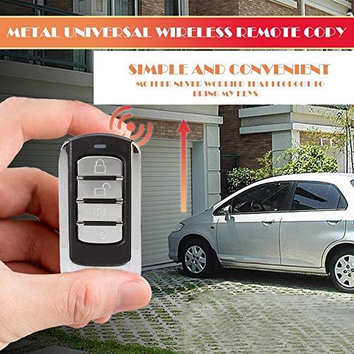 Preisvergleich Produktbild 1 Piece Multifunctional Wireless Button Remote Control 868MHz For Garage Door With Battery And Key Chain