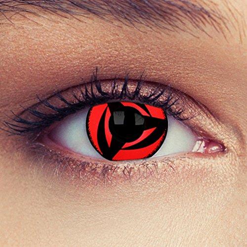 Naruto Kontaktlinsen - Naruto Cosplay Sharingan Kontaktlinsen Hatake Kakashi