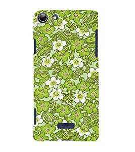 Lotus Flower 3D Hard Polycarbonate Designer Back Case Cover for Micromax Canvas Selfie 3 Q348