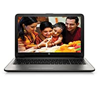 HP 15-af103AX 15.6-inch Laptop (a8_7410/4GB/1TB/AMD Radeon R5 Series M330), Turbo Silver Colour with Diamond and Cross Brush Pattern