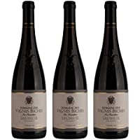 Domaine Vignes Biches la Sicadieres France Loire Valley Vin Saumur AOP 75 cl - Lot de 3