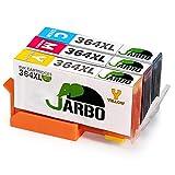JARBO Compatibile HP 364 XL Cartucce d'inchiostro (1 Ciano,1 Magenta,1 Giallo) Compatibile con HP Photosmart 5510 5511 5512 5514 5515 5520 5522 5524 6510 6520 6512 6515 7510 7520 7515 B8550 B8558 C5370 C5373 C5324 C6388 D5460 D5463 B110a B110c B010a B010b B111a B109a B109b C309a C309c B209a B210a HP Deskjet 3070A