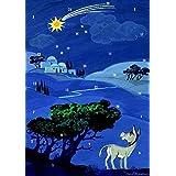 Wie Aaron nach Bethlehem kam: Fensterbild-Adventskalender mit Begleitheft, ab 5 Jahre