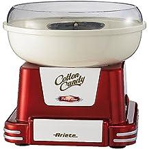 Ariete 2971 Party Time - Máquina para caramelos y azúcar, 500 W, color rojo