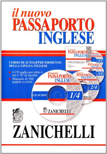 Nuovo passaporto inglese. Corso di autoapprendimento della lingua inglese. Con 4 CD Audio