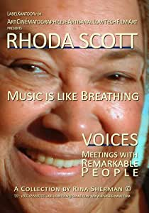 Rhoda Scott, Music is Like Breathing - HOME USE ONLY